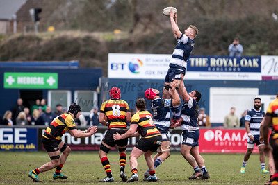 2nd Mar 2019, Coventry Rugby vs Richmond RFC, Butts Lane, Greene King IPA Championship