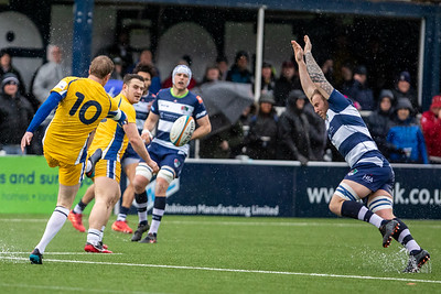 15th Feb 2020, Coventry Rugby vs Yorkshire Carnegie, Butts Stadium, Greene King IPA Championship