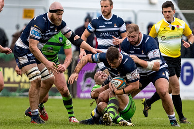 27th Oct 2018, Coventry Rugby vs Yorkshire Carnegie,  Greene King IPA Championship, Butts Stadium