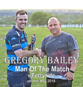 Gregory Bailey MOTM