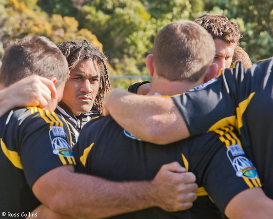 Hurricanes in Training, Rugby League Park, Wellington, 22 April 2009