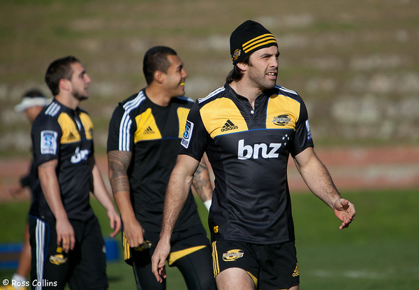 Hurricanes in training, Rugby League Park, Wellington, 11 July 2012