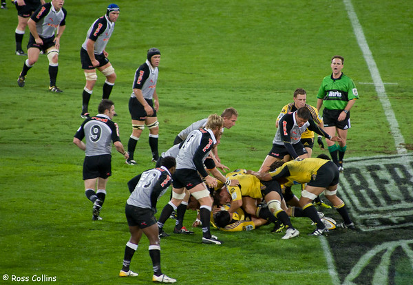Hurricanes vs. Sharks, Westpac Stadium, Wellington, 24 March 2006