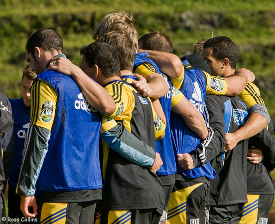 Hurricanes in Training, Rugby League Park, Wellington, 13 May 2008