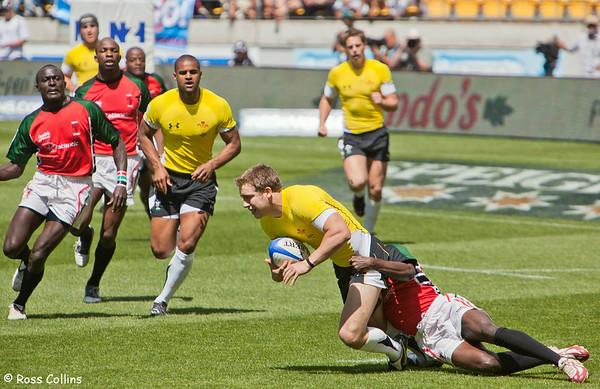 IRB Rugby Sevens, Westpac Stadium, Wellington, 6-7 February 2009