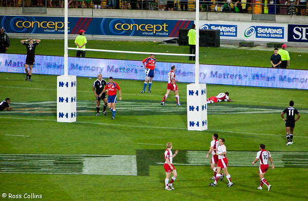 IRB Rugby Sevens, Westpac Stadium, Wellington, 6-7 February 2009