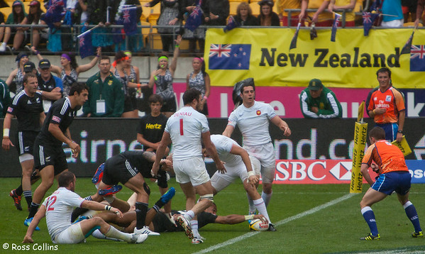 IRB Rugby Sevens, Westpac Stadium, Wellington - Day Two, 4 February 2012