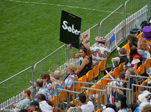 IRB Rugby Sevens, Westpac Stadium, Wellington - Day One, 3 February 2012