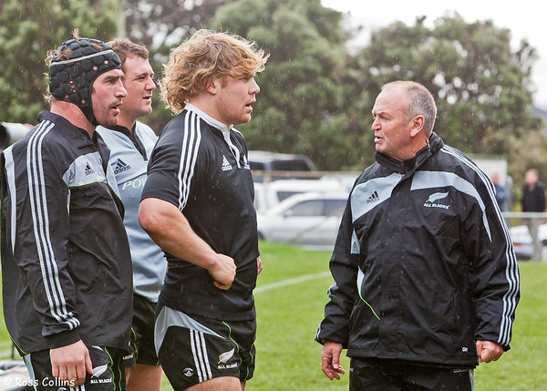 All Blacks Training Camp, Rugby League Park, Newtown, Wellington, 9 July 2009