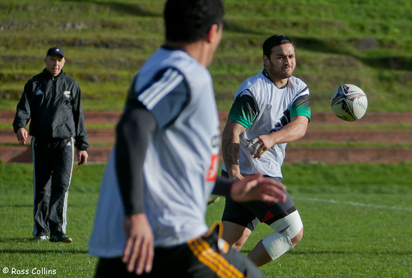 All Blacks Training Camp, Rugby League Park, Newtown, Wellington, 6 July 2011