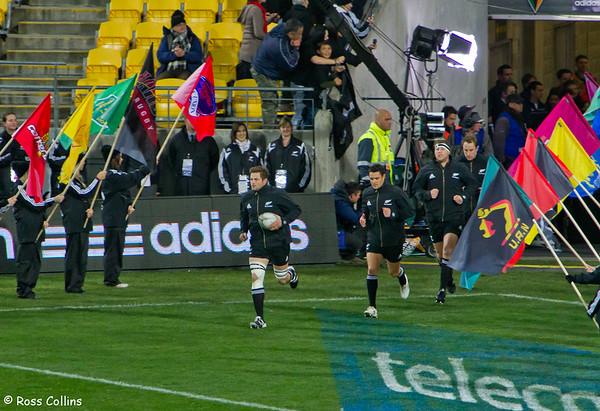 All Blacks vs. Springboks, Westpac Stadium, Wellington, 30 July 2011