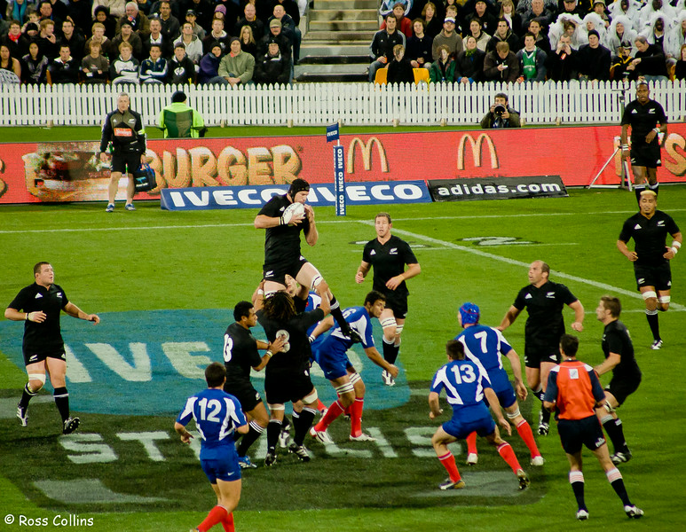 New Zealand 61 vs  France 10 - 2007 - Points of View