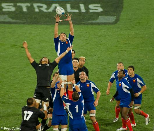 New Zealand 61 vs. France 10, Westpac Stadium, Wellington, 9 June 2007