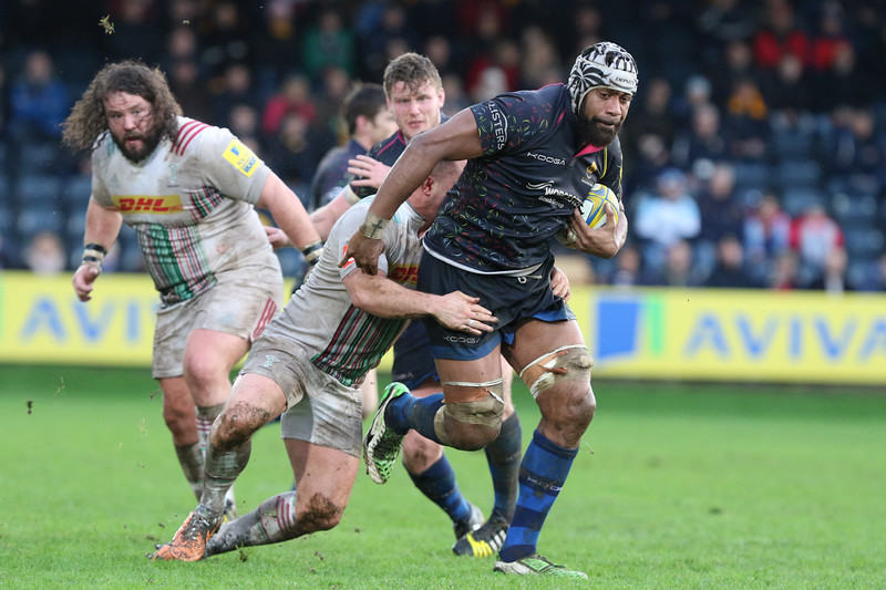 Worcester Warriors V Harlequins 3rd January 2016 (20-24)