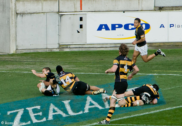 Wellington vs. Taranaki, Air New Zealand Cup Quarterfinal, Wellington, 11 October 2008