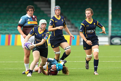 Worcester Valkyries V  Aylesford Bulls in Women's Premiership Action at Sixways