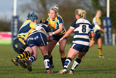 Worcester Ladies RFC V Bristol Ladies RFC 8th December 2013