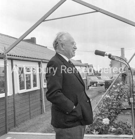 Ludwig Guttman at Stoke Mandeville Games, July 1968