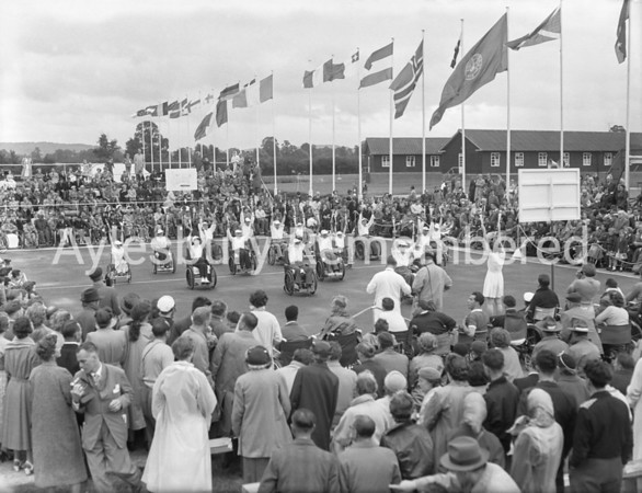Stoke Mandeville Games, July 27 1957