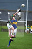 260113  2013 Munster GAA McGrath Football Final  Tipperary v Kerry . Tipperary's   Philip QuirKe in action during Saturday's McGrath Cup final played in Tipperary Town.  Photo Andy Jay.