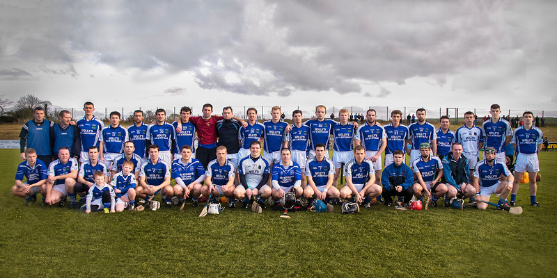 171113 The Munster Club Intermediate Hurling Championship Final Ballina v Youghal.  The Ballina Intermediate Hurling team before their clash with Youghal in Mallow last Sunday.  Photo Andy Jay.