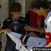 Hudson - Sao Paulo - Brazil signs an autograph after a training session in Orlando - 17 June 2014 (Photographer: Nigel Worrall)