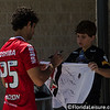 Hudson - Sao Paulo - Brazil signs an autograph after an Orlando Training Session - 17 June 2014 (Photographer: Nigel Worrall)