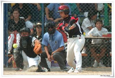 2007  第二屆香港男子快投壘球邀請賽