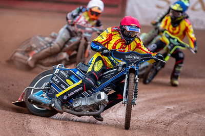 22nd August 2018, Birmingham Brummies vs Stoke Potters, Perry Barr Stadium, Birmingham