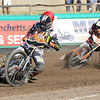MBFP-07-08-2016-021 Mildenhall Fen Tigers v Kent Kings Speedway Kyle Hughes Action Bury Free Press 07.08.2016
