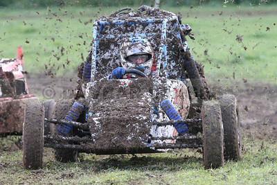 Midget Car Racing champion James Mulvey battles his way through the Rathdrum mud in the 1300cc class (May 2014)