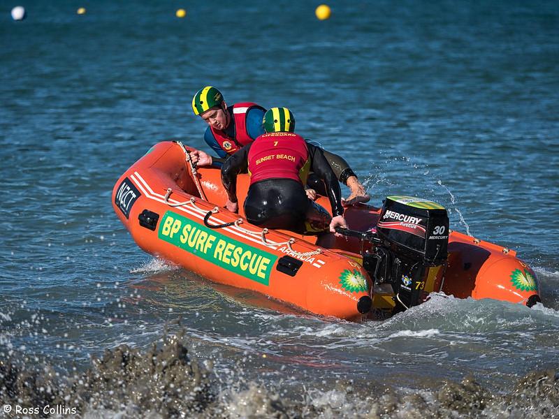SLSNZ IRB Selection Trial, Lyall Bay, Wellington, 21 April 2018