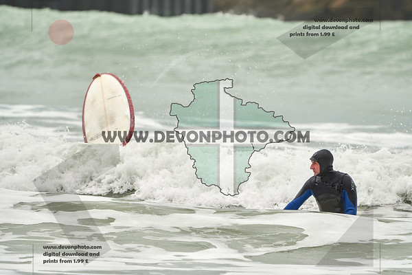 surfing in newquay 21/02/2020