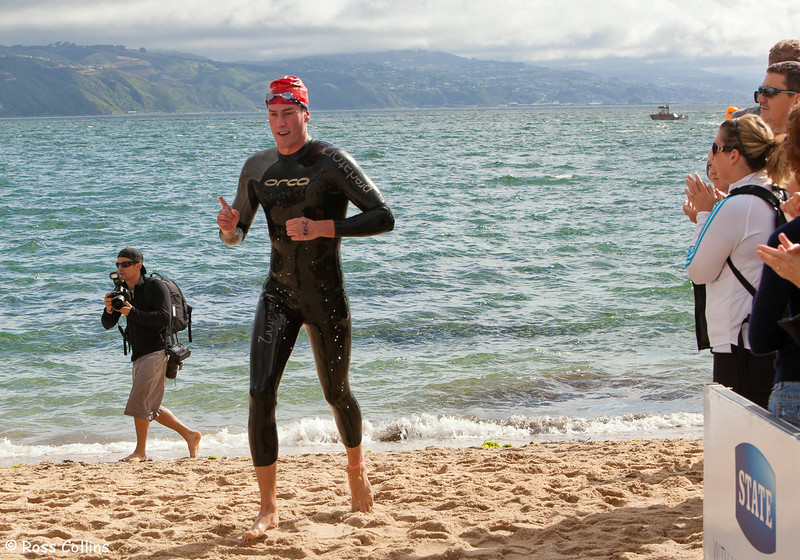 New Zealand Ocean Swim Series, Capital Classic, Oriental Bay, Wellington, 29 January 2011
