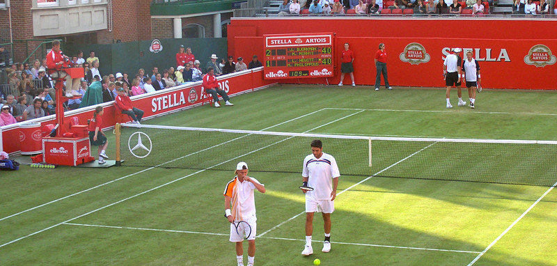 Lleyton Hewitt and Mark Philippoussis Doubles 2005