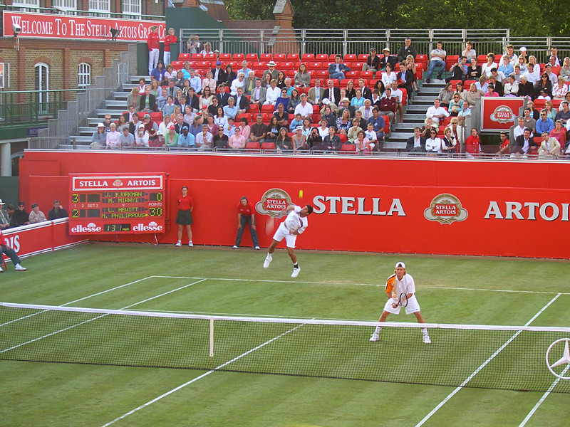 Lleyton Hewitt and Mark Philippoussis