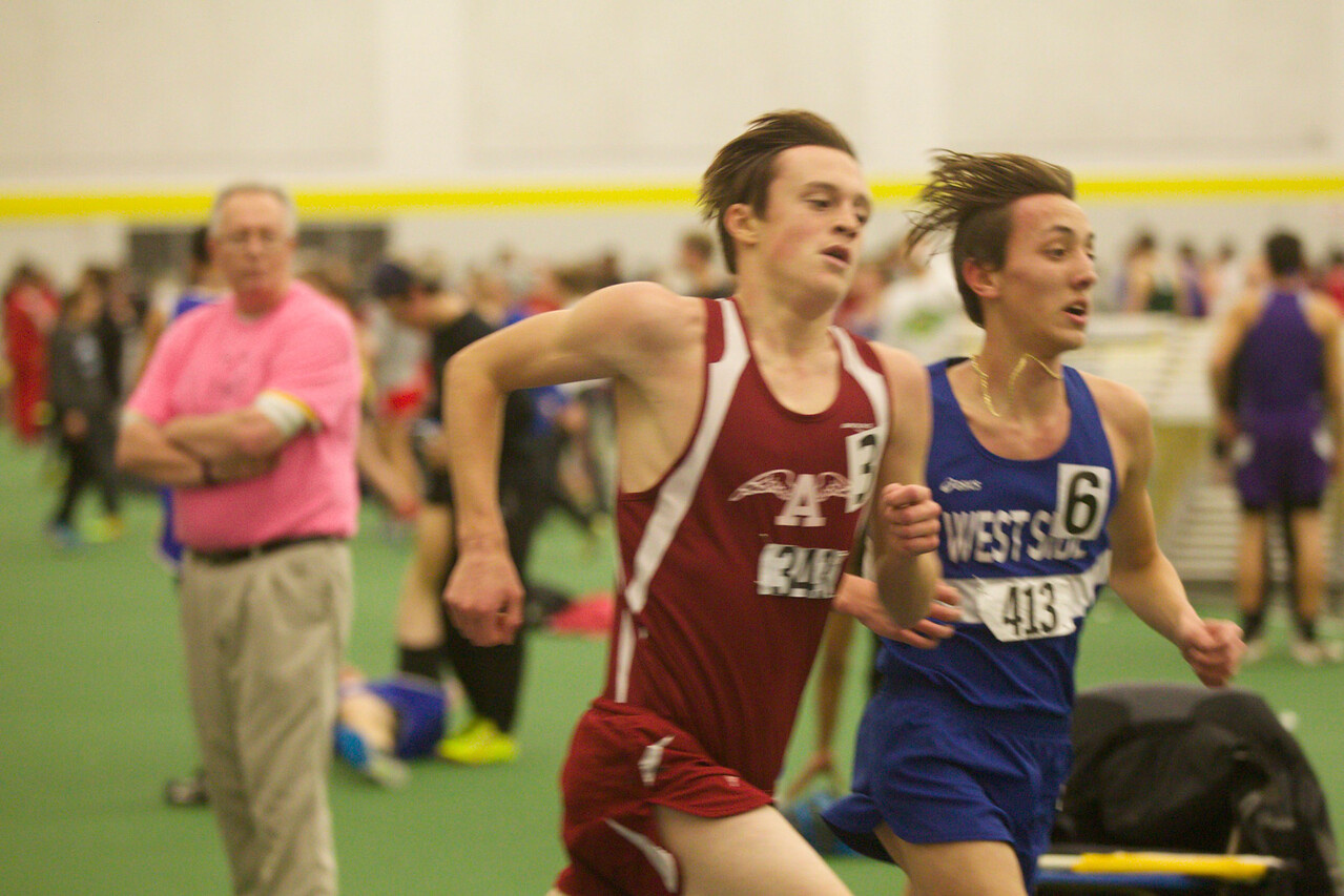 ARHS indoor track at PVIAC championships