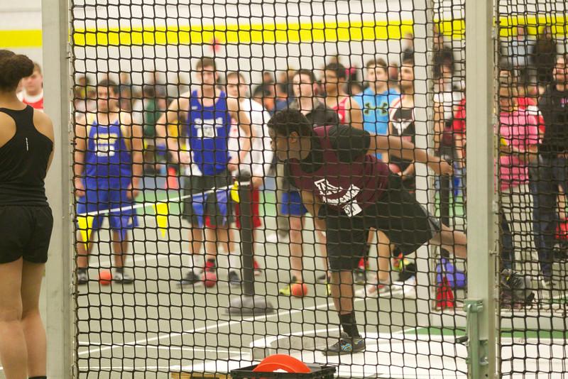 ARHS indoor track at PVIAC championships