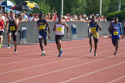 ARHS outdoor track at MA State Track Championships, 2013