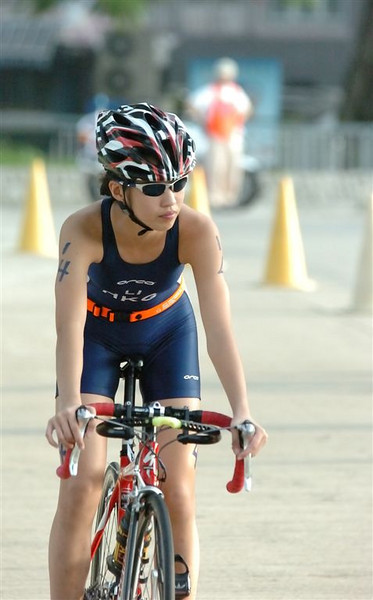 2005半奧運距離三項鐵人賽 及 校際水陸兩項鐵人