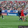 U.S. National Women's Soccer Team vs Russia