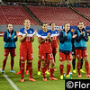 U.S. Women's Soccer Team applauds Lauren Holiday reaching 100 appearances,  Raymond James Stadium, Tampa - 14 June 2014 (Photographer: Nigel Worrall)