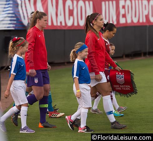 USA Women 4 Mexico 1