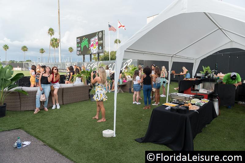 JULY 28, 2018 - ST. PETERSBURG, FLORIDA: Tampa Bay Rowdies 2 New York Red Bulls II 2, Al Lang Stadium. (Photo : Nigel G. Worrall)