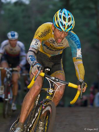 Tom Meeusen wereldbekercross Heusden-Zolder 2012