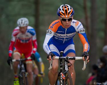 Lars Van Der Haar wereldbekercross Heusden-Zolder 2012