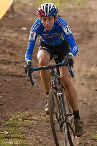 Helen Wyman wereldbekercross Heusden-Zolder 2012