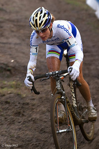Marinanne Vos wereldbekercross Heusden-Zolder 2012