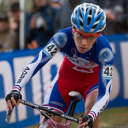 Lucie Chanel-Lefevre wereldbekercross Heusden-Zolder 2012