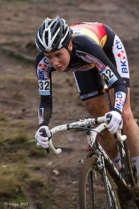 Sanne Cant wereldbekercross Heusden-Zolder 2012